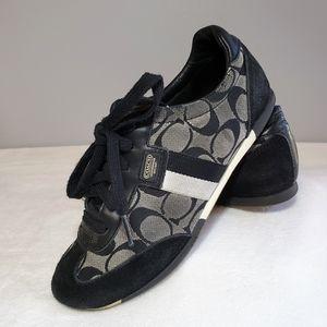Coach Joss Canvas Sneaker ~ excellent condition!